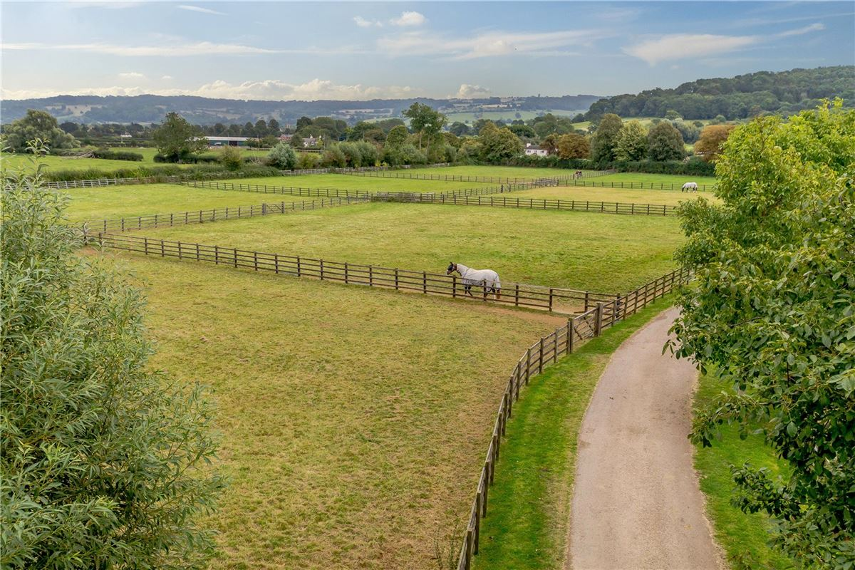 Stunning barn conversion with excellent equestrian facilities and 40 acres luxury real estate
