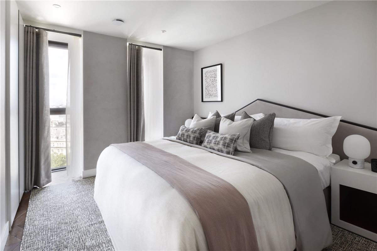 gorgeous two bedroom in the Hexagon Apartments luxury homes