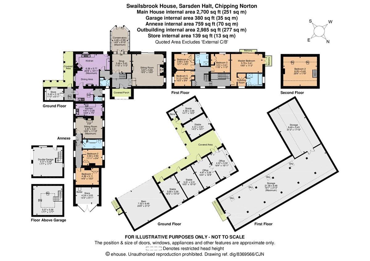 Luxury homes Swailsbrook House