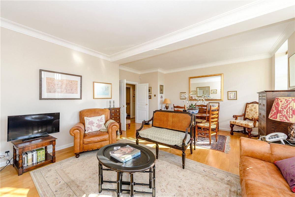 An impressive two bedroom corner flat luxury homes