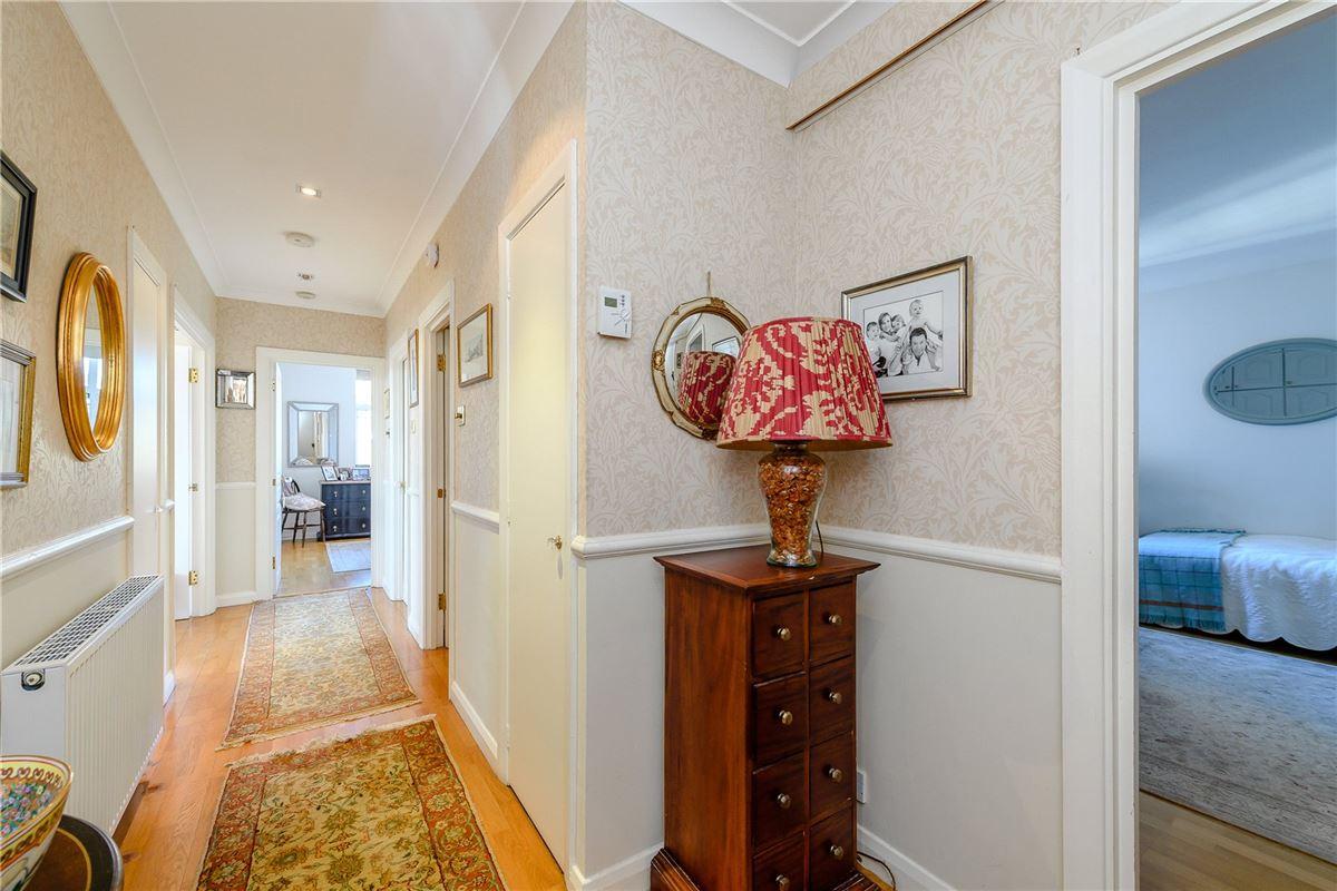 An impressive two bedroom corner flat mansions