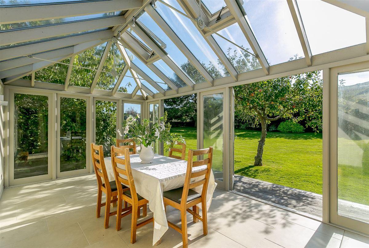 this substantial home boasts wonderful Downland views luxury properties