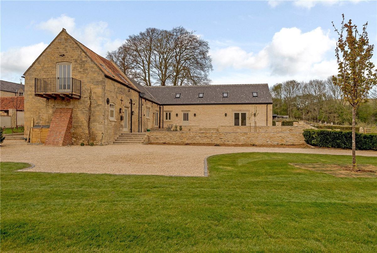 An exquisitely renovated barn conversion with stunning views  mansions