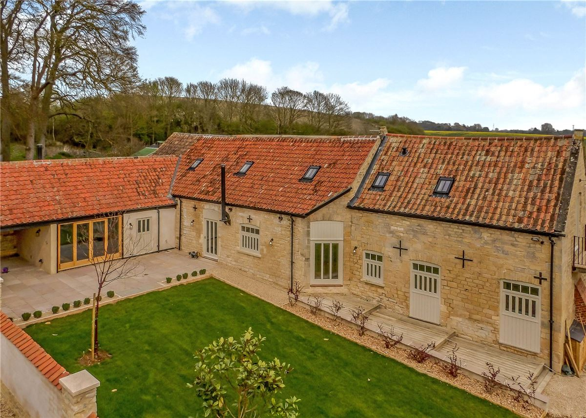 An exquisitely renovated barn conversion with stunning views  luxury properties