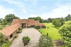 A substantial and hugely impressive barn conversion mansions