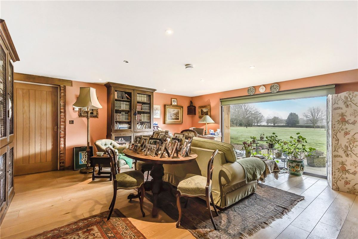 Luxury real estate A substantial and hugely impressive barn conversion