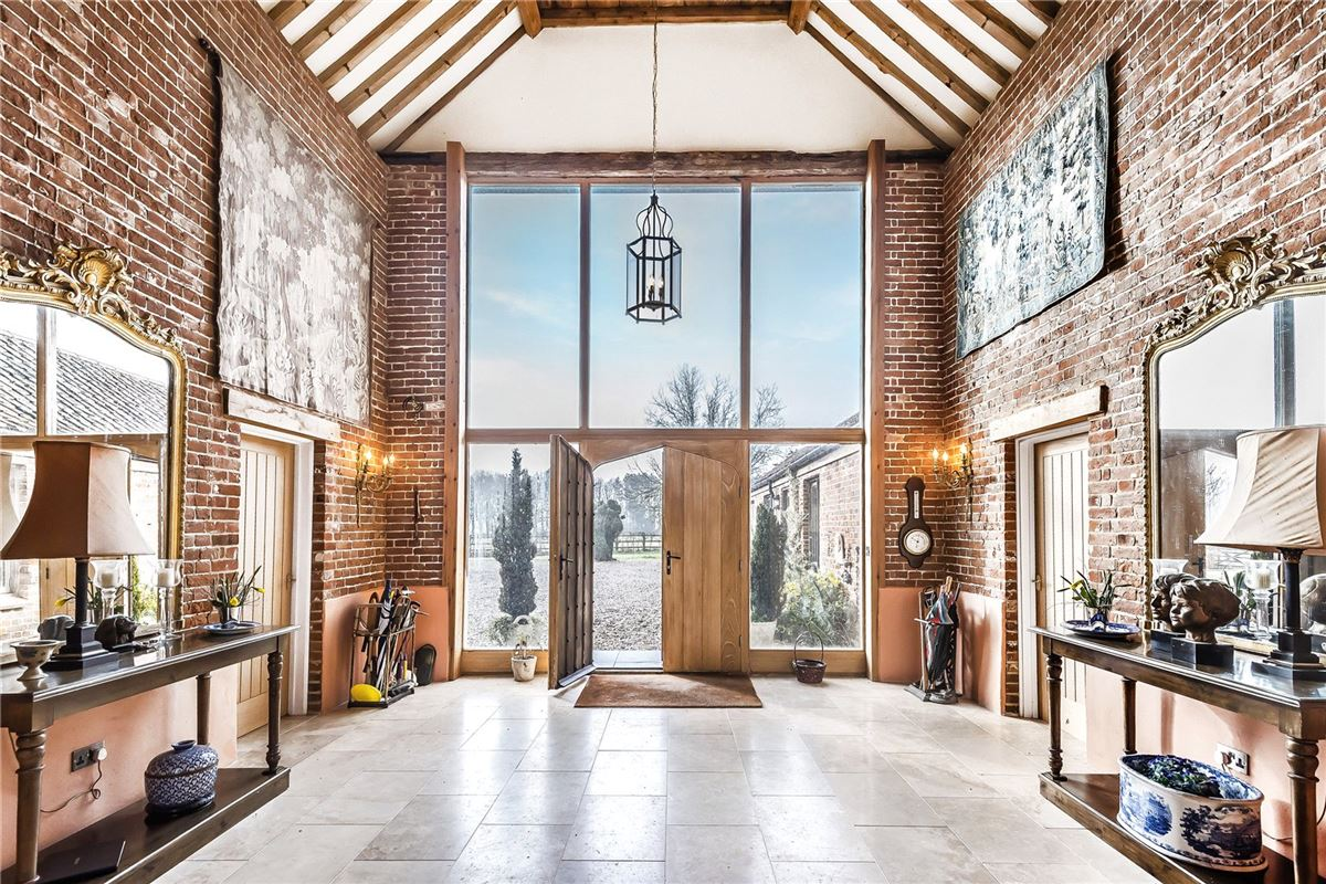A substantial and hugely impressive barn conversion luxury real estate