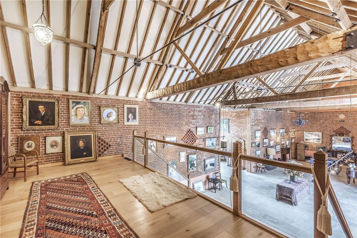 A substantial and hugely impressive barn conversion luxury properties