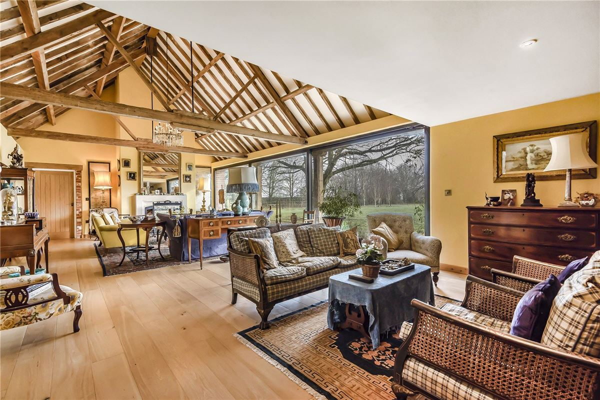 Mansions A substantial and hugely impressive barn conversion
