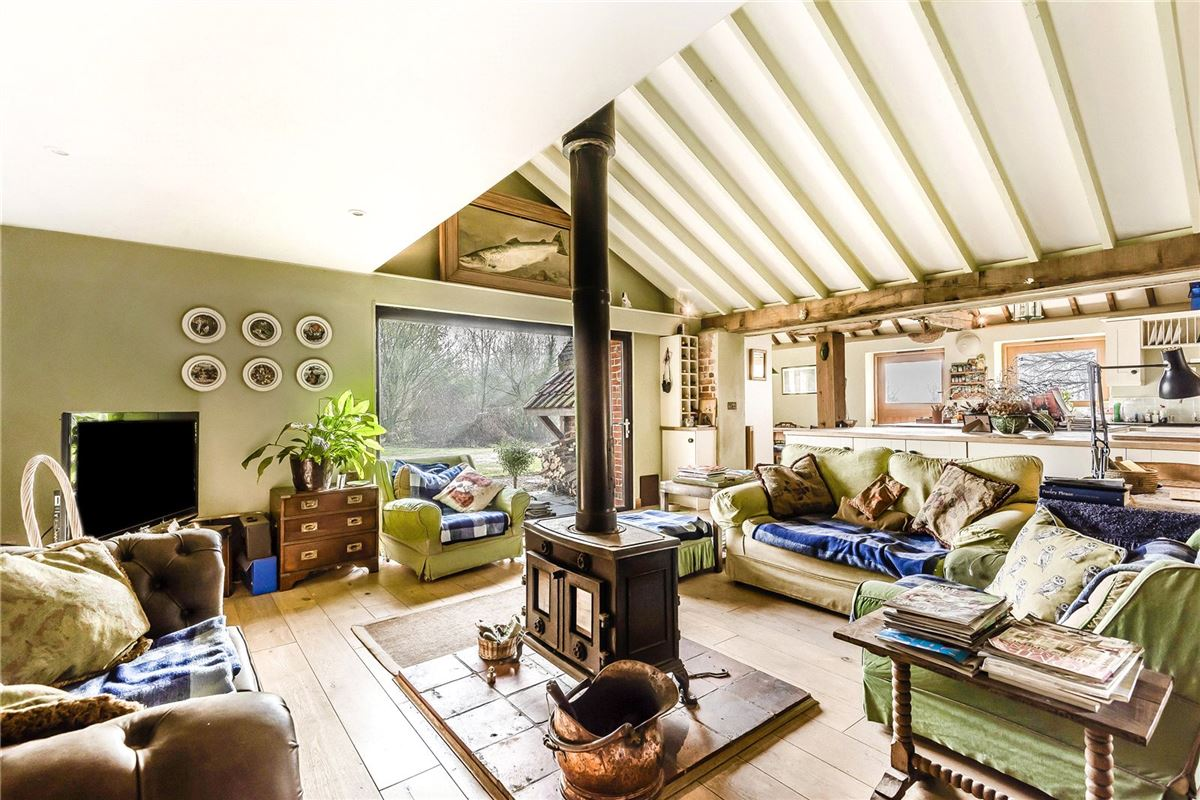 Mansions in A substantial and hugely impressive barn conversion