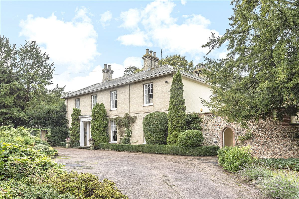 A fine Georgian country house in a secluded and convenient location luxury properties