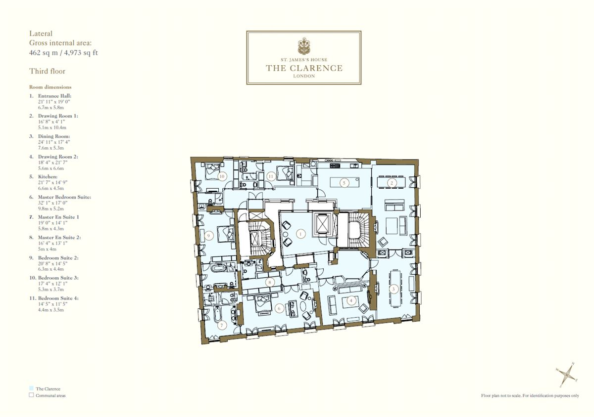 stunning four bedroom lateral apartment luxury properties