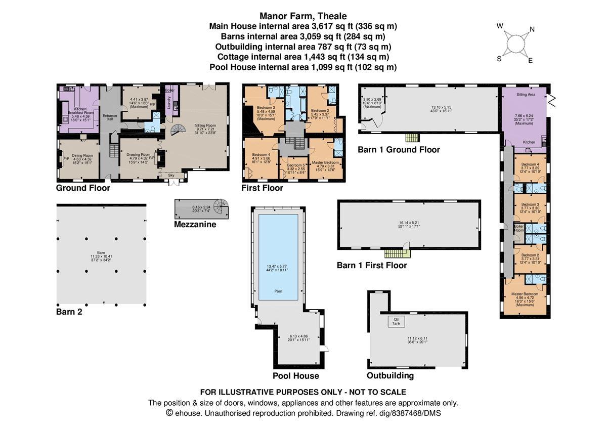 Manor Farm luxury properties