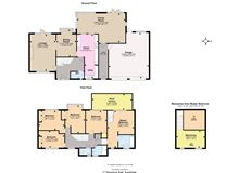 well-proportioned home on a large plot luxury real estate