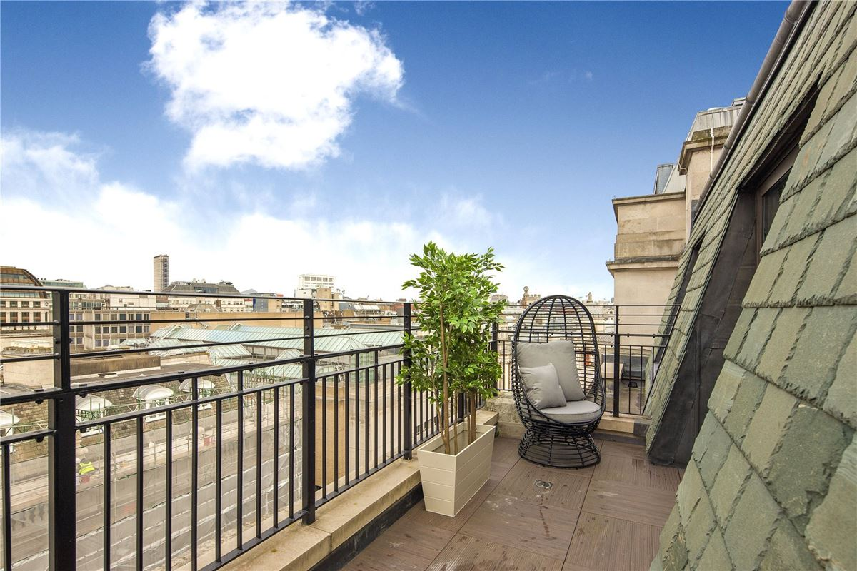 Luxury properties striking St. James Penthouse