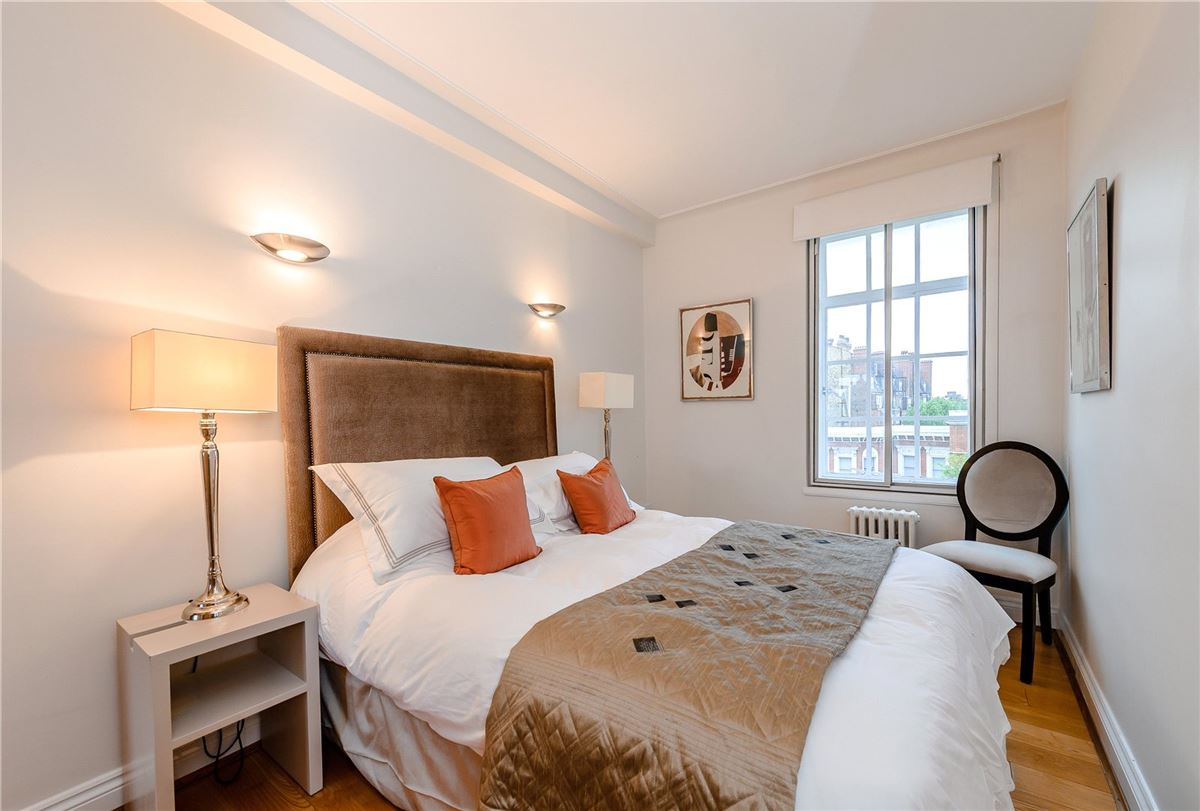 a well-presented apartment in an attractive mansion block luxury homes