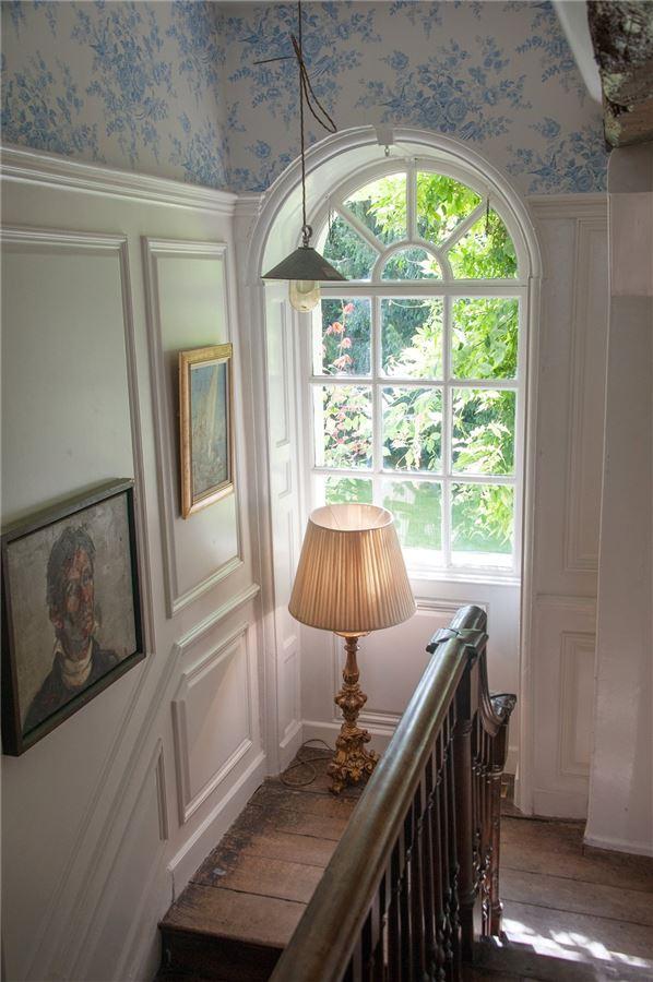 Luxury properties stylishly presented Grade II listed Georgian house