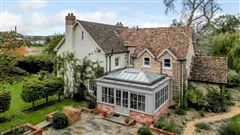 A substantial and highly attractive property with delightful gardens luxury homes