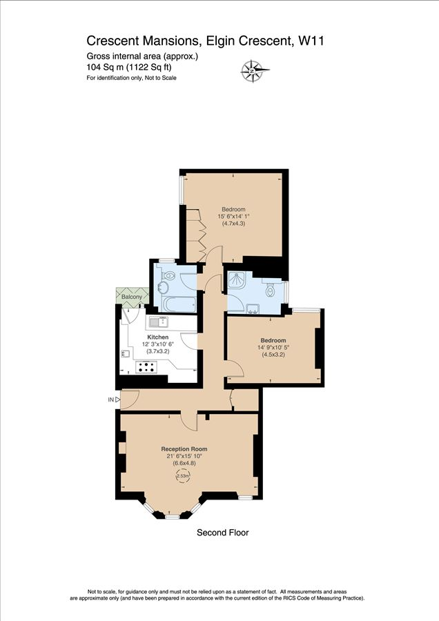 Luxury homes in bright and spacious second floor flat