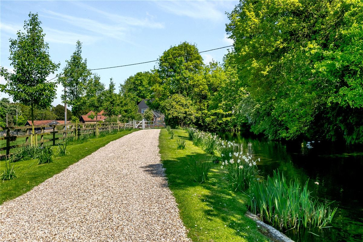 Luxury real estate spacious home boasts stunning gardens and grounds