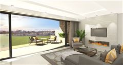 Luxury homes in impressive apartment with terrace overlooking Edinburgh skyline