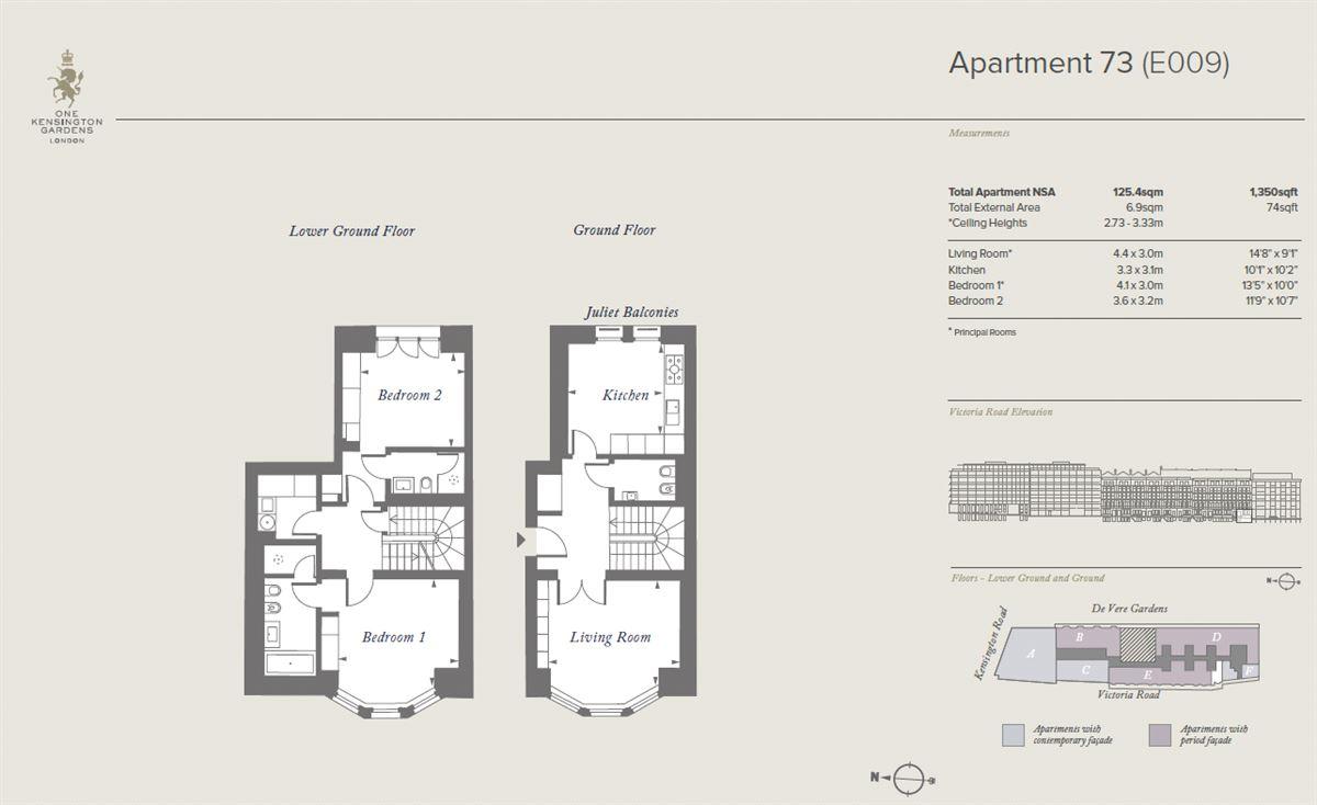 Luxury properties apartment in exceptional development