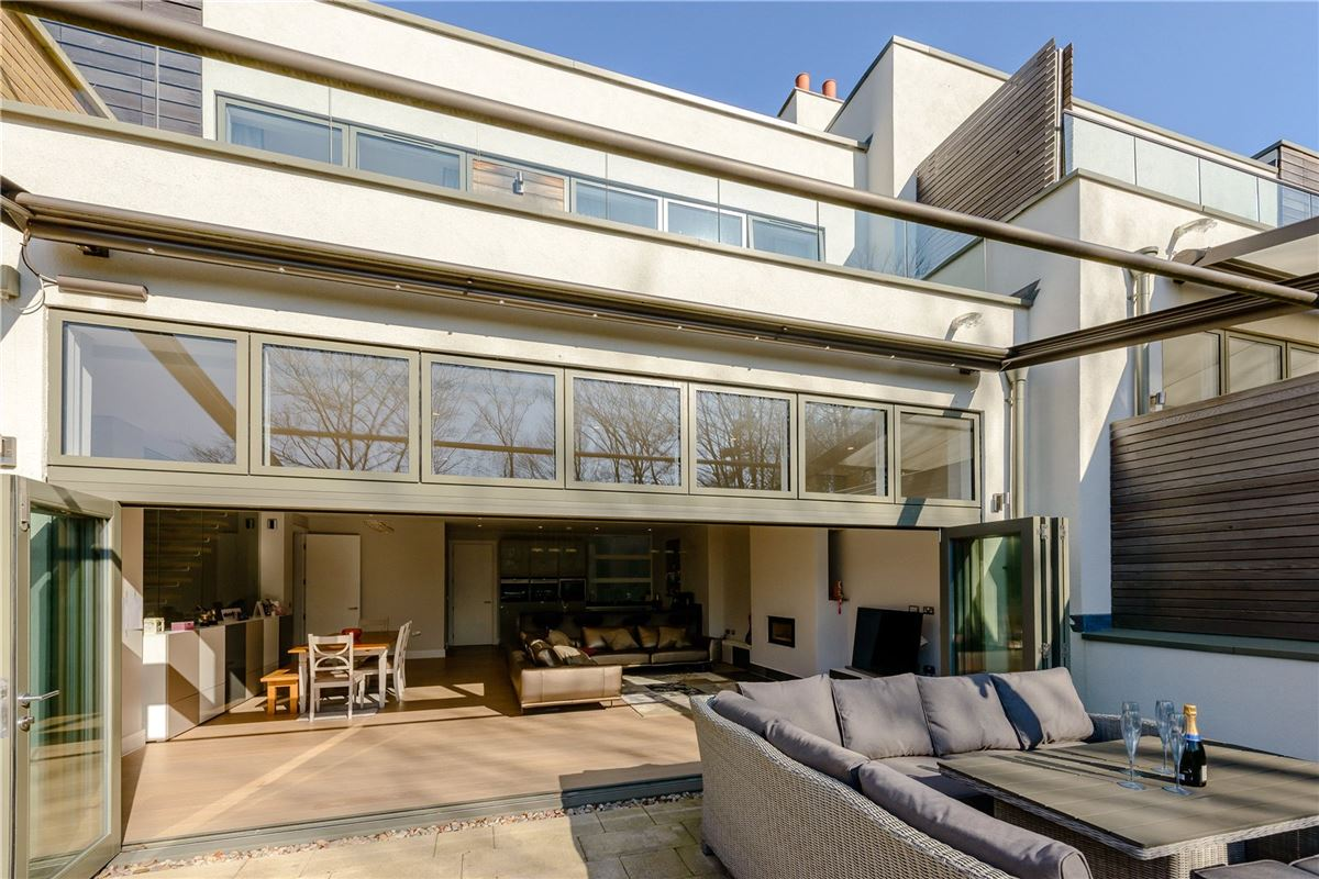 Luxury homes An architecturally stunning four bedroom house