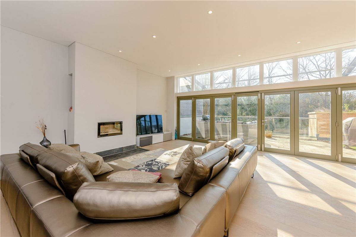 An architecturally stunning four bedroom house luxury homes