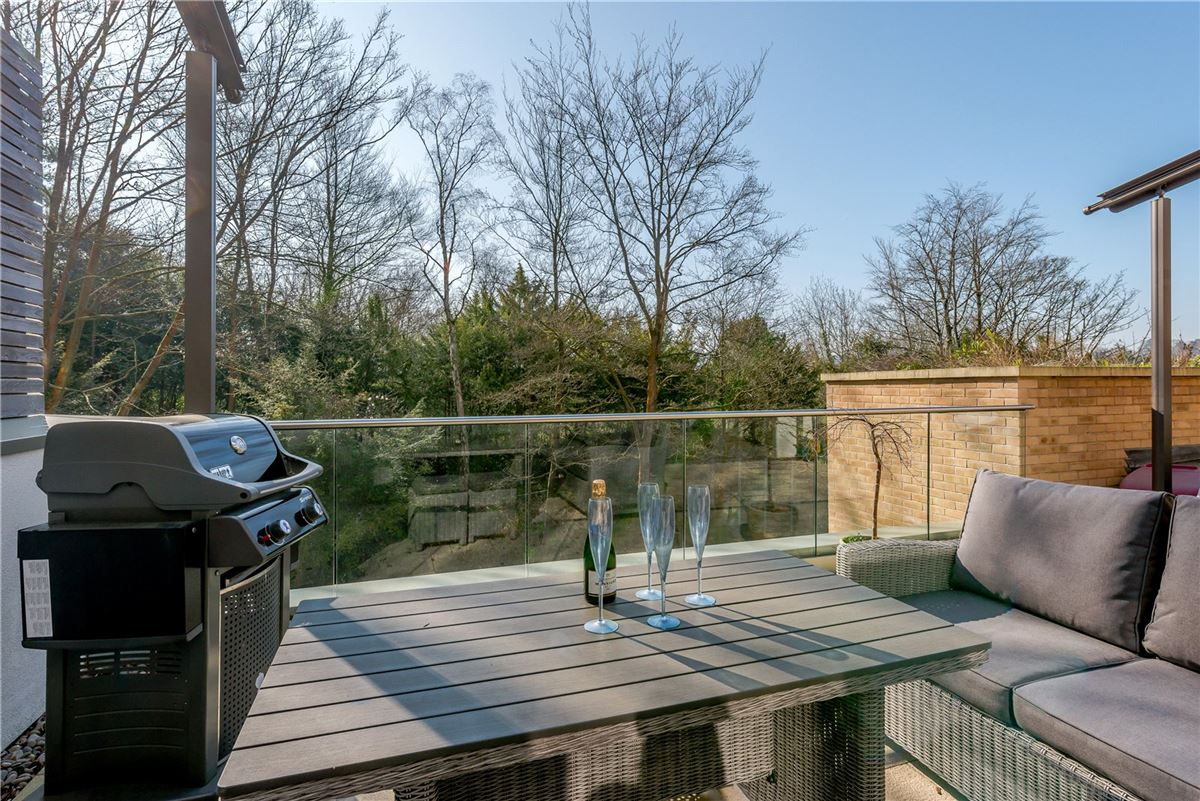 Luxury real estate An architecturally stunning four bedroom house