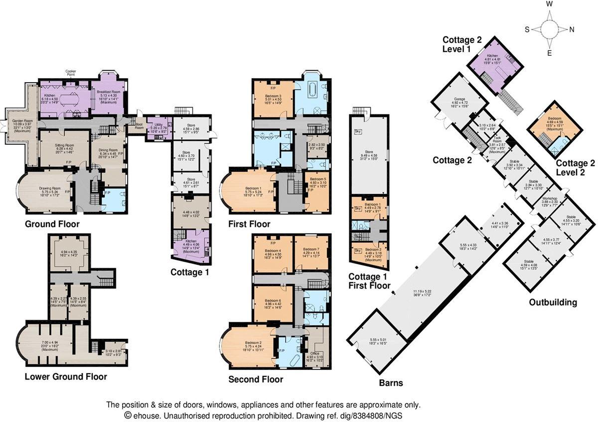 Luxury real estate Yeaton Hall