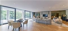 Mansions in five bedroom apartment overlooking Kensington Palace Gardens