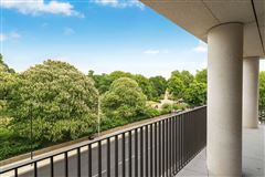 five bedroom apartment overlooking Kensington Palace Gardens luxury real estate