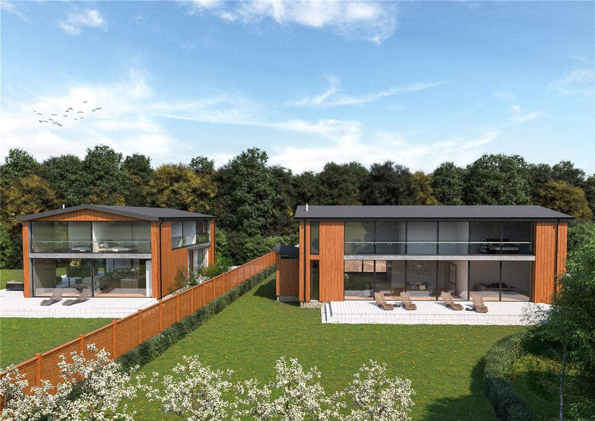 Luxury properties A stunning contemporary new build
