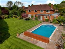 substantial East Horsley home mansions