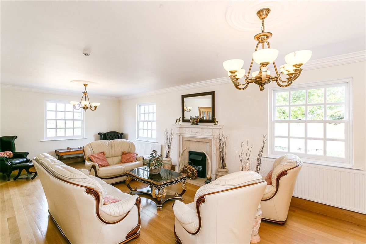 Luxury properties a handsome and beautifully set country house