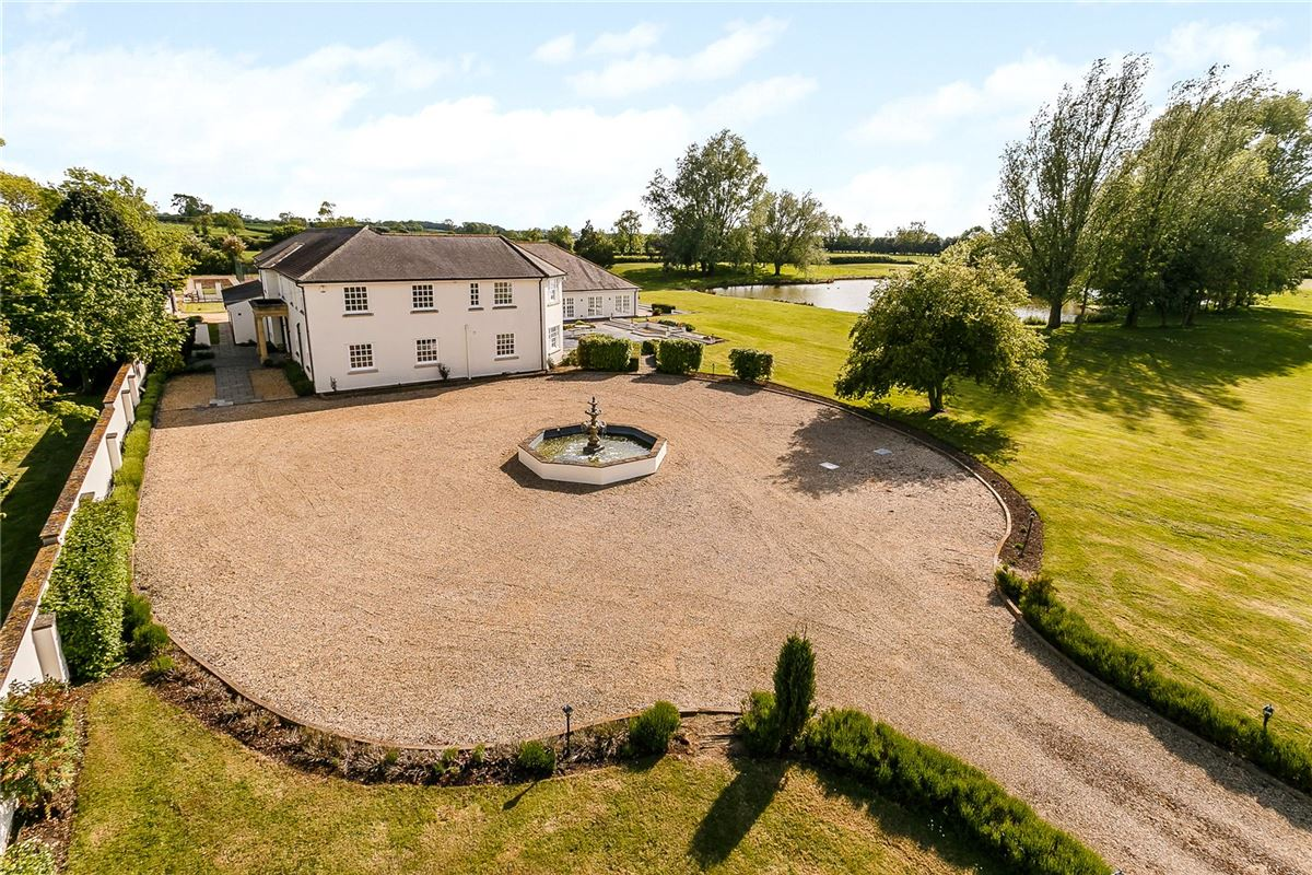 Luxury real estate a handsome and beautifully set country house