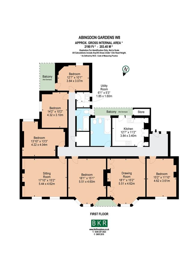 Mansions five bedroom first floor apartment