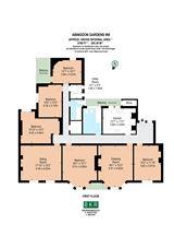 five bedroom first floor apartment luxury real estate