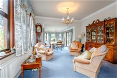 A beautifully maintained country house on lovely grounds mansions