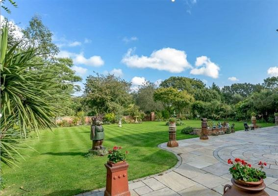 Luxury homes in A beautifully maintained country house on lovely grounds