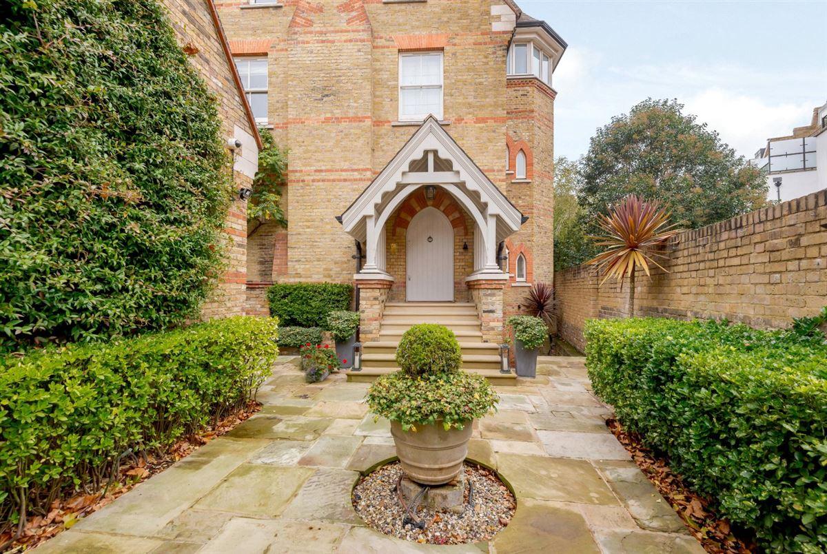 Luxury homes unique Gothic Revival house