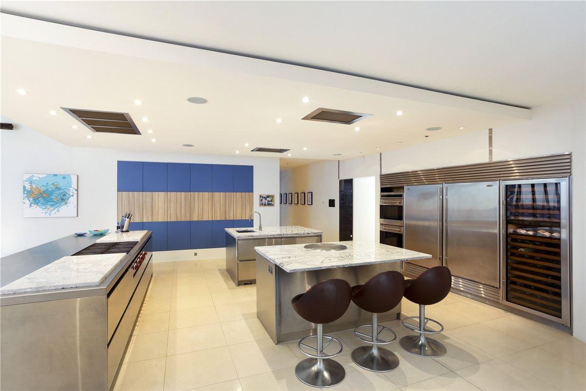 A modern masterpiece  luxury homes