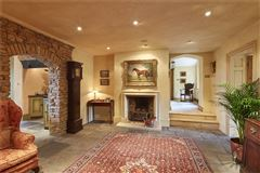 Luxury real estate elegant home with lovely gardens and superb views