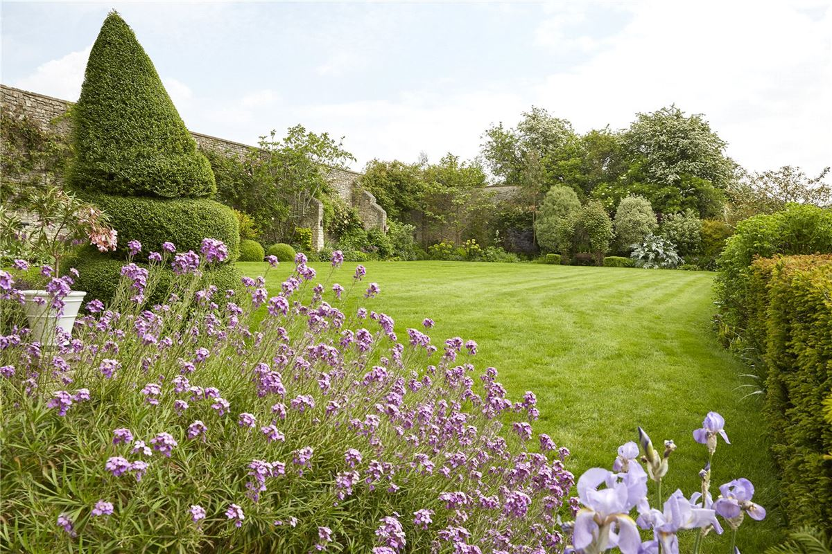 Luxury homes in elegant home with lovely gardens and superb views