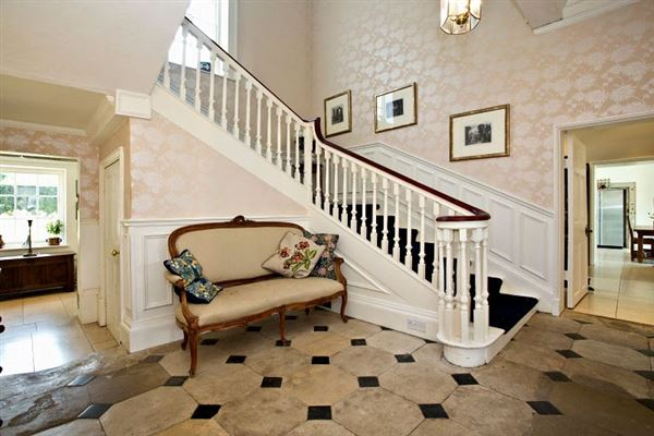 a handsome home offers a wealth of period features luxury homes