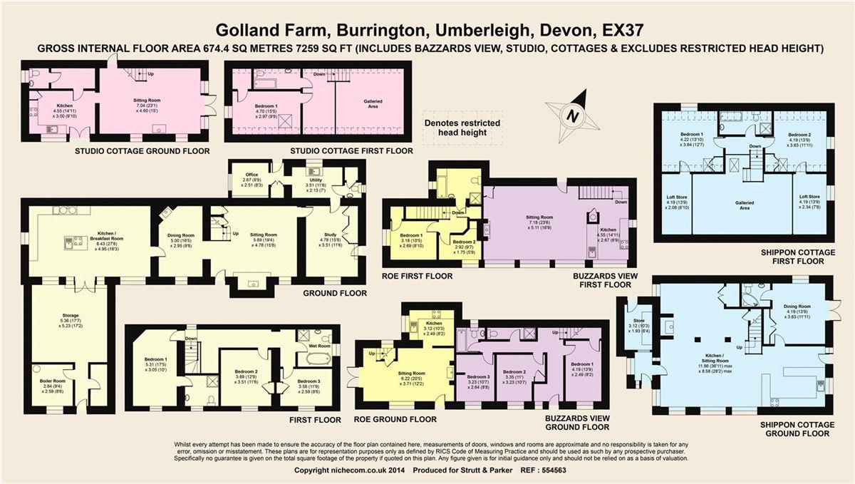 Mansions in Golland Farm