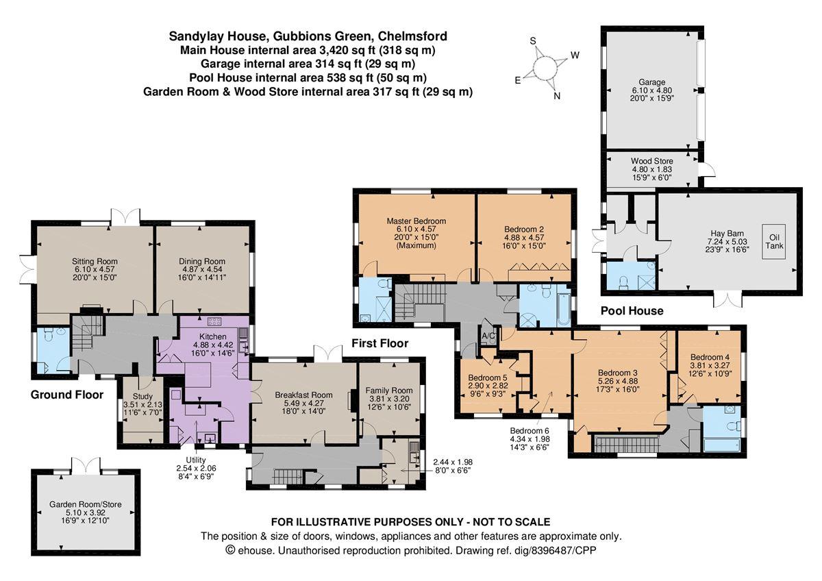 Sandylay House luxury homes