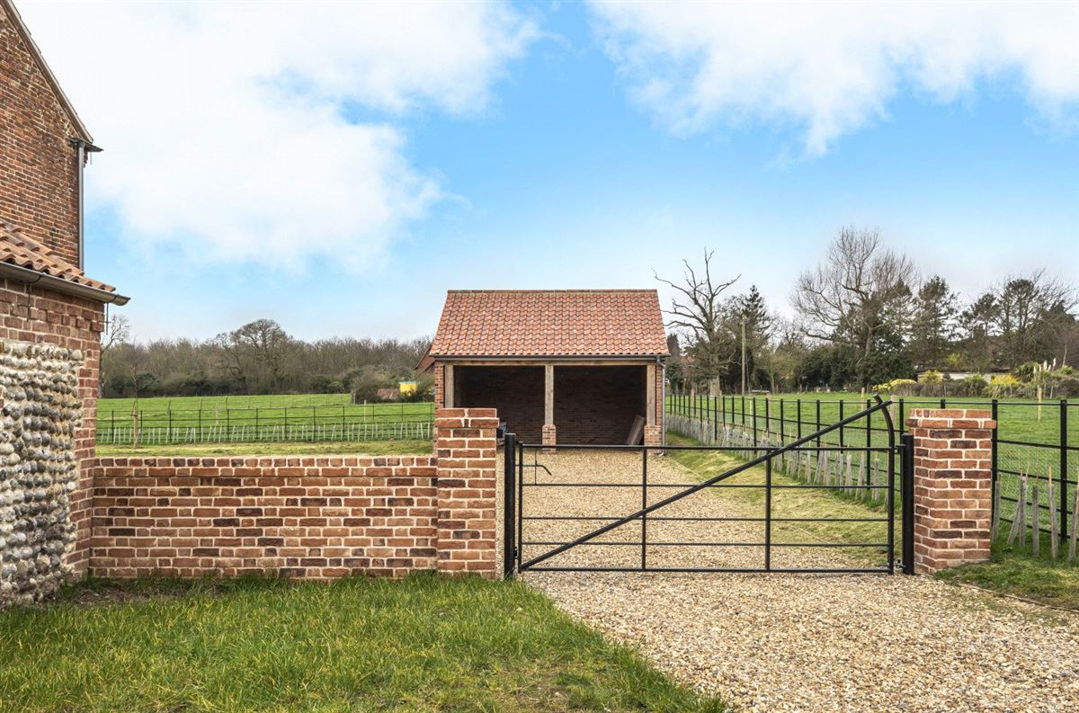 Luxury homes Threshers Barn is an impressive two-storey barn conversion