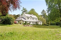 Luxury real estate A detached country house enjoying magnificent views
