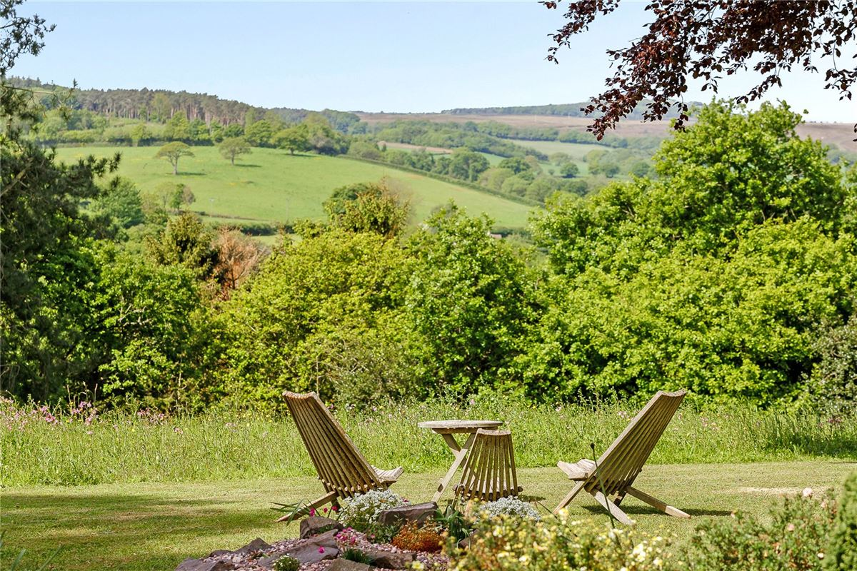 Luxury properties A detached country house enjoying magnificent views